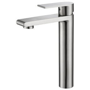 High basin mixer stainless steel